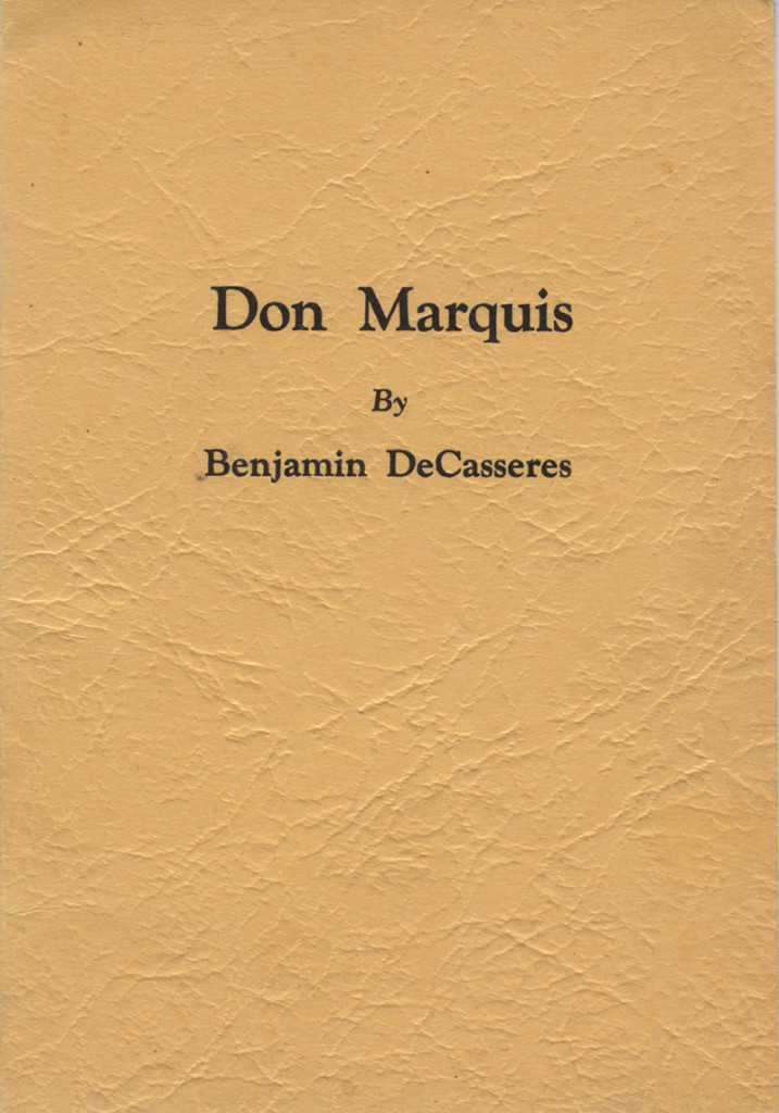 DonMarquisCover